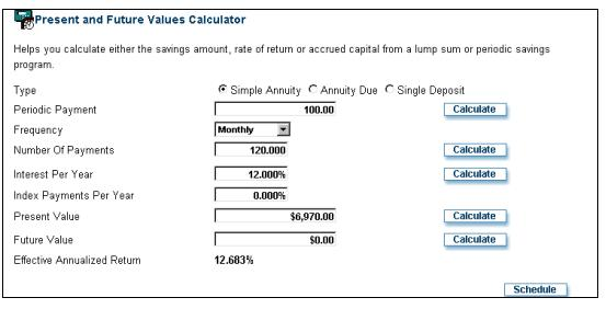 Annuity Payment Estimate